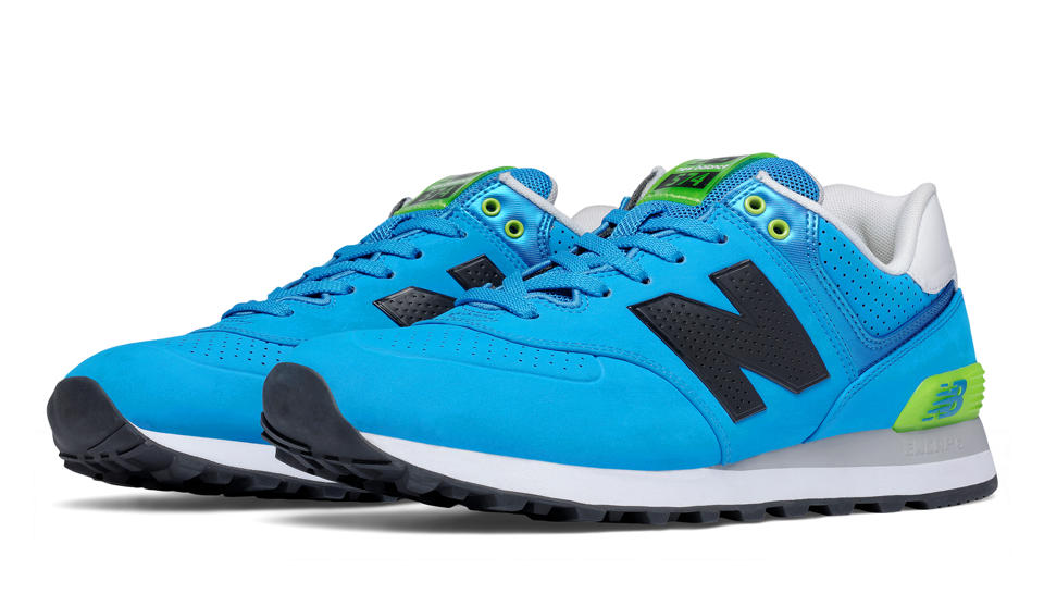 New Balance Blue Green