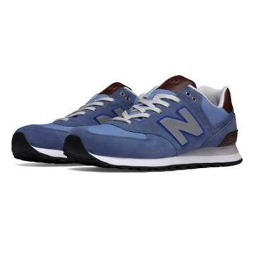 New Balance 574 Cruisin, Chambray with Grey & Tan