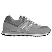 80s Running 574, Light Grey with Grey Stone
