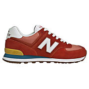 70s Running 574, Red with White & Teal
