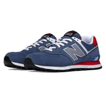 New Balance 574 New Balance, Crater with Red & Light Grey