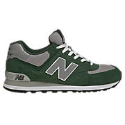 New Balance 574, Green with Grey