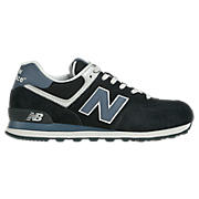 New Balance 574, Navy Blue with Blue