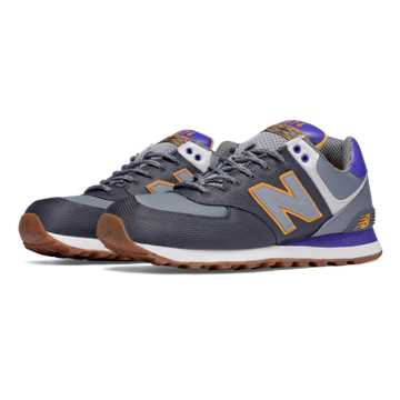 New Balance 574 Weekend Expedition, Orca with Grey & Purple