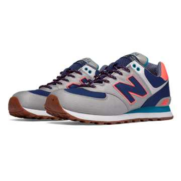New Balance 574 Weekend Expedition, Stone Grey with Sailor Blue & Dragonfly
