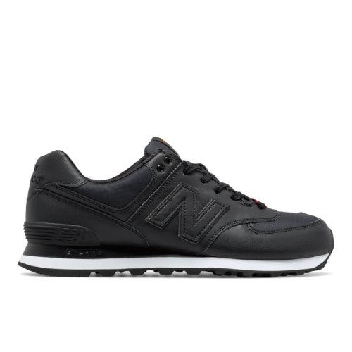 574 Flight Jacket Men's 574 Shoes - Black (ML574FJB) ML574FJB