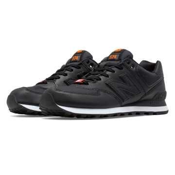 New Balance 574 Black And Orange