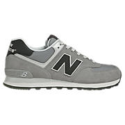 New Balance 574, Grey with Black