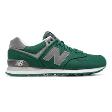 New Balance 574 Jetsetter, Evergreen with Silver