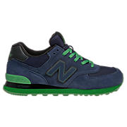 Sole 574, Navy with Green