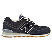 New Balance 574, Navy with White