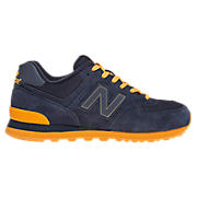 Neon 574, Navy with Orange