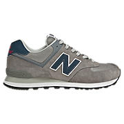 90s Running 574, Grey with Navy