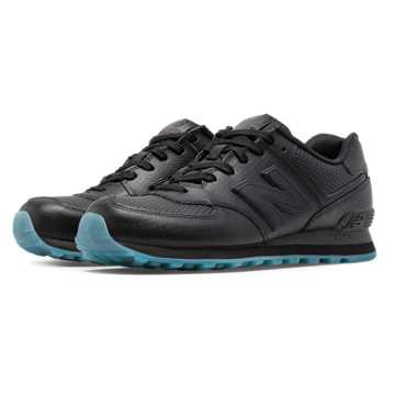 New Balance 574 Perforated, Black