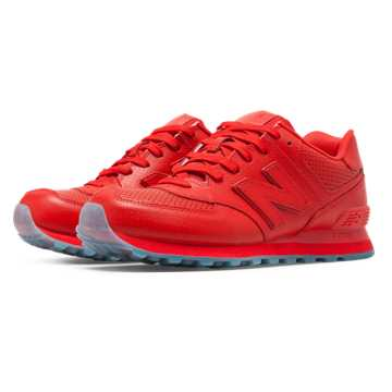 New Balance 574 Perforated, Red