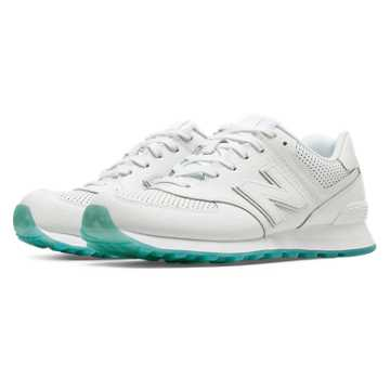 New Balance 574 Perforated, White