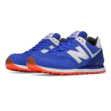 New Balance 574 State Fair, Blue with White