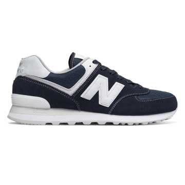 New Balance 574 New Balance, Outerspace with White