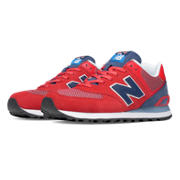 NB 574 Day Hiker, Red with Navy