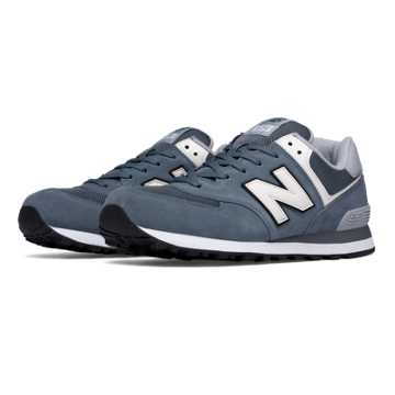 New Balance 574 Varsity, Blue Bell with White