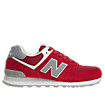 Varsity 574, Red with Grey