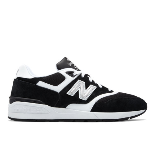 New Balance 597 New Balance Chaussures - Black/White (Taille EU 40.5 / UK 7)