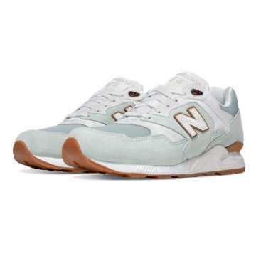 New Balance 878 Restomod, Mint Cream with White