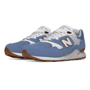 New Balance 878 Restomod, Cornflower Blue with White