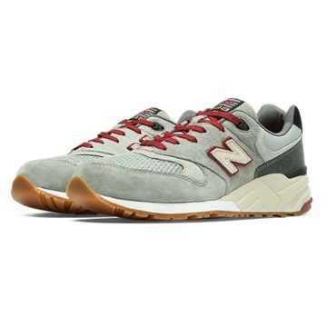 New Balance 999 Limited Edition Riders Club, Light Grey with Grey & Deep Claret