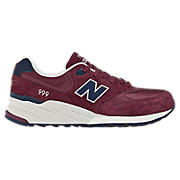 New Balance 999, Maroon with Navy