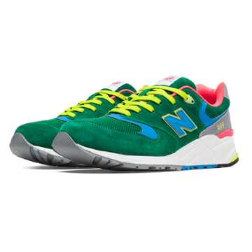 New Balance 999 Elite Edition Pinball, Green with Bolt & Hi-Lite