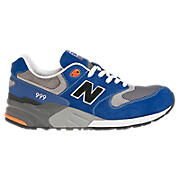 New Balance 999, Blue with Grey & Orange