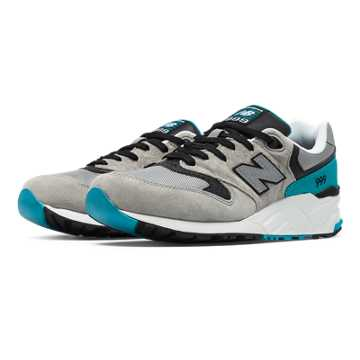 New Balance 999 Sound and Stage, Light Grey with Grey & Blue Atoll
