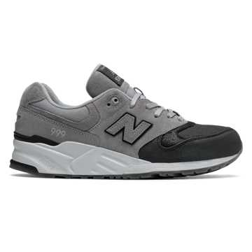 New Balance 999 Canvas Waxed, Steel with Black
