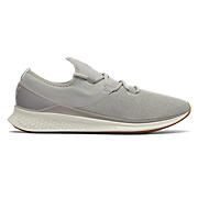 Fresh Foam Lazr v1 Heathered , Stone Grey with White