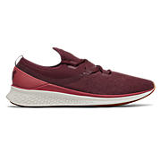 Fresh Foam Lazr v1 Heathered , Burgundy with Sea Salt