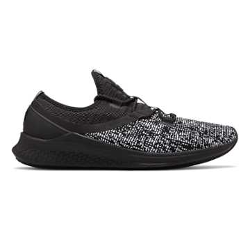 Fresh Foam Lazr Sport, Black with White