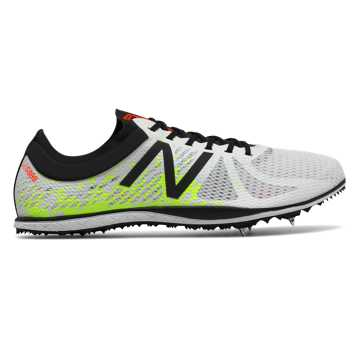 New Balance LD5000v4 Spike, White with Firefly