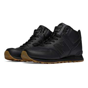New Balance 574 Mid-Cut Leather, Black