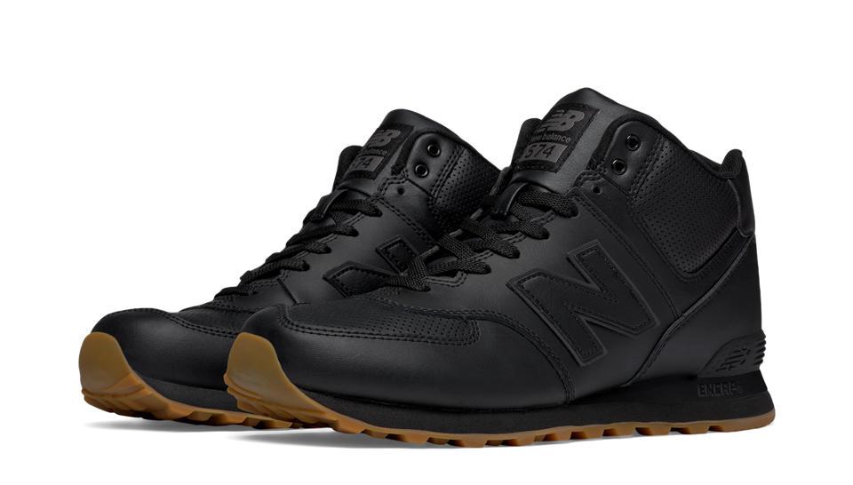 mens 574 new balance leather