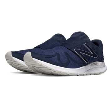 New Balance Vazee Rush Sweatshirt, Navy with White