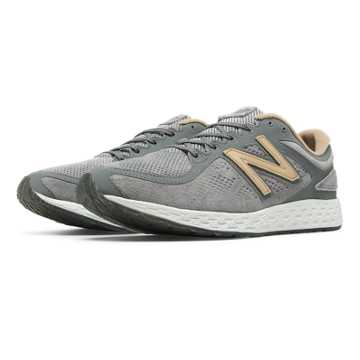 New Balance Fresh Foam Zante Suede, Grey with Sand