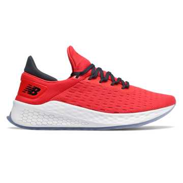 Men's Fresh Foam LazrV2 HypoKnit, Energy Red with Outer Space
