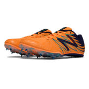 New Balance MD500v4 Spike, Orange Pop with Black & Atlantic Blue