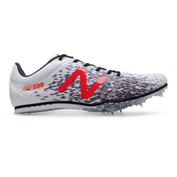 MD500v5 Spike, White with Flame & Black