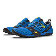 Minimus 10, Blue with Black & Neon Yellow