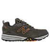 New Balance 989, Olive with Orange