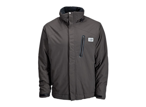 Insulated Winter Sports Jacket, Raven