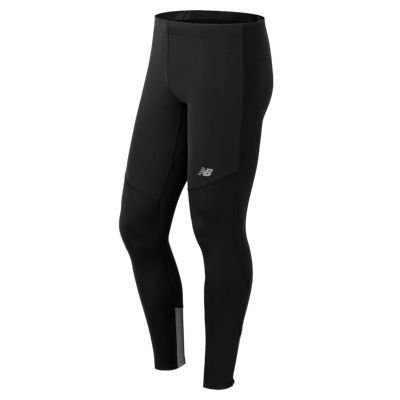 New Balance 53215 Men's Windblocker Tight | MP53215BK | Fitness Blog