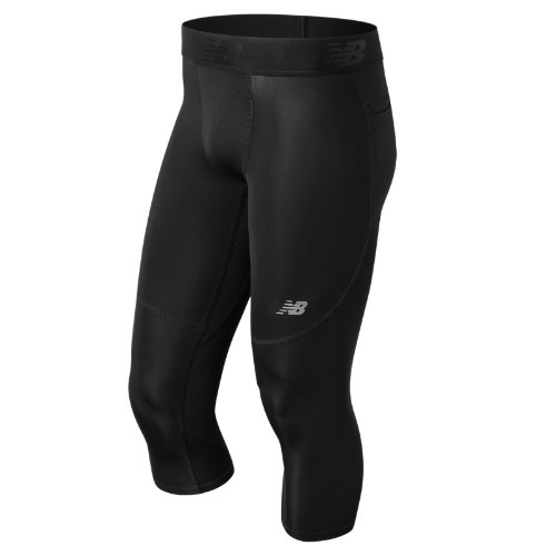 New Balance Challenge 3 Qtr Tight Boy's Performance - MP73029BK